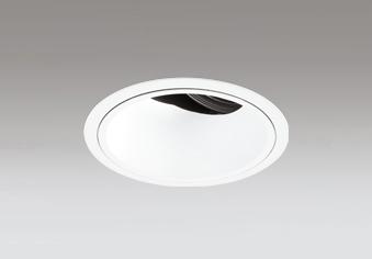 ◎ODELIC LEDユニバーサルダウンライト CDM-T35W相当 オフホワイト 33° 埋込穴Φ125mm 2700K~5000K  青tooth調光・調色 深型 専用リモコン対応 XD402500BC (電源・リモコン別売)