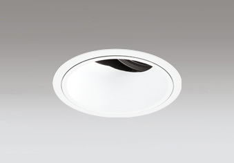 ◎ODELIC LEDユニバーサルダウンライト CDM-T35W相当 オフホワイト 45° 埋込穴Φ125mm 2700K~5000K  青tooth調光・調色 深型 専用リモコン対応 XD402502BC (電源・リモコン別売)