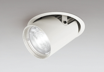 ◎ODELIC LEDダウンスポットライト CDM-T70W相当 オフホワイト 64° 埋込穴Φ125mm 白色 4000K  専用調光器対応 XD402537 (電源・調光器・リモコン・信号線別売)