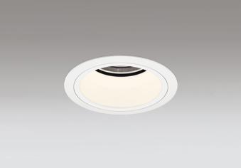 ◎ODELIC LEDベースダウンライト グレアレス CDM-T35W相当 オフホワイト 45° 埋込穴Φ100mm 電球色 2700K  M形 一般型 専用調光器対応 XD403437H (電源・調光器・信号線別売)