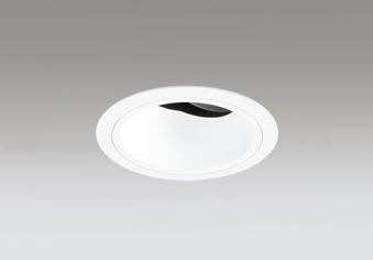 ◎ODELIC LEDユニバーサルダウンライト JR12V50W相当 オフホワイト 14° 埋込穴Φ100mm 2700K~5000K  Bluetooth調光・調色 深型 専用リモコン対応 XD403565BC (電源・リモコン別売)