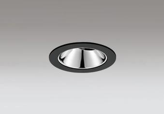 ◎ODELIC LEDユニバーサルダウンライト グレアレス JR12V50W相当 ブラック 15° 埋込穴Φ75mm 電球色 3000K  M形 一般型 専用調光器対応 XD603138HC (調光器別売)
