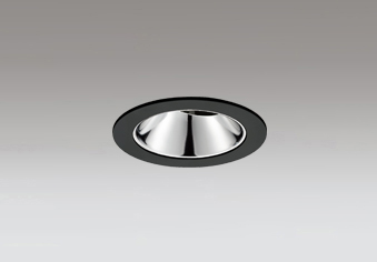 ◎ODELIC LEDユニバーサルダウンライト グレアレス JR12V50W相当 ブラック 20° 埋込穴Φ75mm 電球色 3000K  M形 一般型 専用調光器対応 XD603140HC (調光器別売)