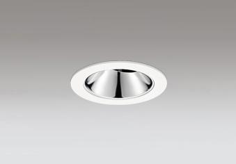 ◎ODELIC LEDユニバーサルダウンライト グレアレス JR12V50W相当 オフホワイト 20° 埋込穴Φ75mm 電球色 2500K  M形 一般型 専用調光器対応 XD603147HC (調光器別売)