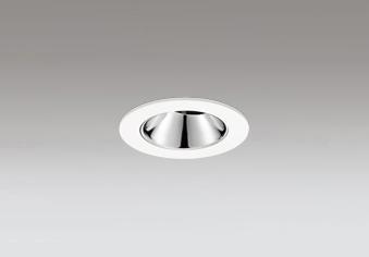 ◎ODELIC LEDユニバーサルダウンライト グレアレス JDR110V75W相当 オフホワイト 25° 埋込穴Φ60mm 温白色 3500K  M形 一般型 専用調光器対応 XD604135HC (調光器別売)