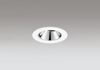 ◎ODELIC LEDユニバーサルダウンライト グレアレス JDR110V75W相当 オフホワイト 17° 埋込穴Φ60mm 電球色 2500K  M形 一般型 専用調光器対応 XD604145HC (調光器別売)