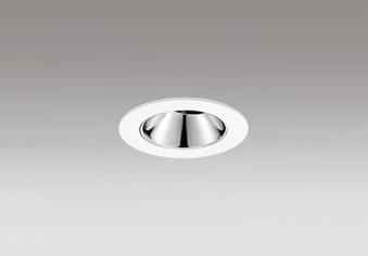 ◎ODELIC LEDユニバーサルダウンライト グレアレス JDR110V75W相当 オフホワイト 25° 埋込穴Φ60mm 電球色 2500K  M形 一般型 専用調光器対応 XD604147HC (調光器別売)