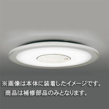 ◎東芝 補修用セード(プレート付) アクリル・乳白  一般住宅用 LEDHC80105 ※受注生産品