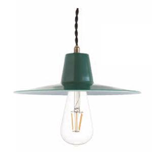 ◎ディクラッセ ペンダントランプ LEDバチーノ/LED Bacino 引掛けシーリング LED電球 E26口金 白熱球60W相当 (ランプ付き) 本体色グリーン (緑) LP3087GR