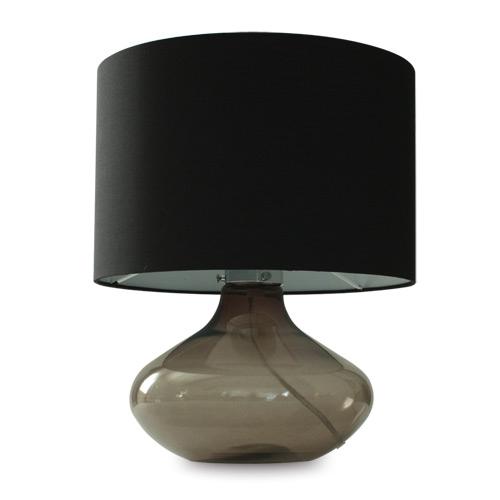 ◎ディクラッセ テーブルランプ アクア/Acqua ブラック ランプ付き(一般電球電球60W E26口金) 中間スイッチ付き LT3100BK