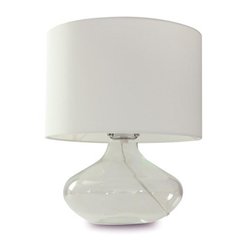 ◎ディクラッセ テーブルランプ アクア/Acqua ホワイト ランプ付き(一般電球電球60W E26口金) 中間スイッチ付き LT3100WH