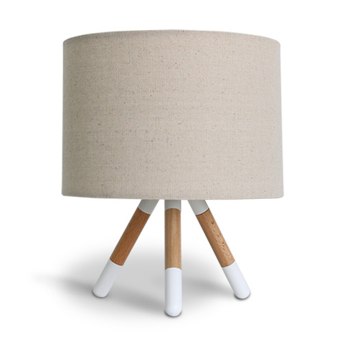 LT3725BE 中間スイッチ付き ディクラッセ ナイトランプ/テーブルランプ ランプ付き(白熱ミニ電球40W カルツェ/Calze E17口金) ベージュ