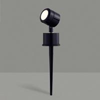 ◎東芝 LED照明器具 アウトドアスポットライト スパイク式ライト LED一体形 白熱灯器具60Wクラス キャプタイヤコード付属 防雨形 本体色:ブラック LEDG87908L(K)-LS