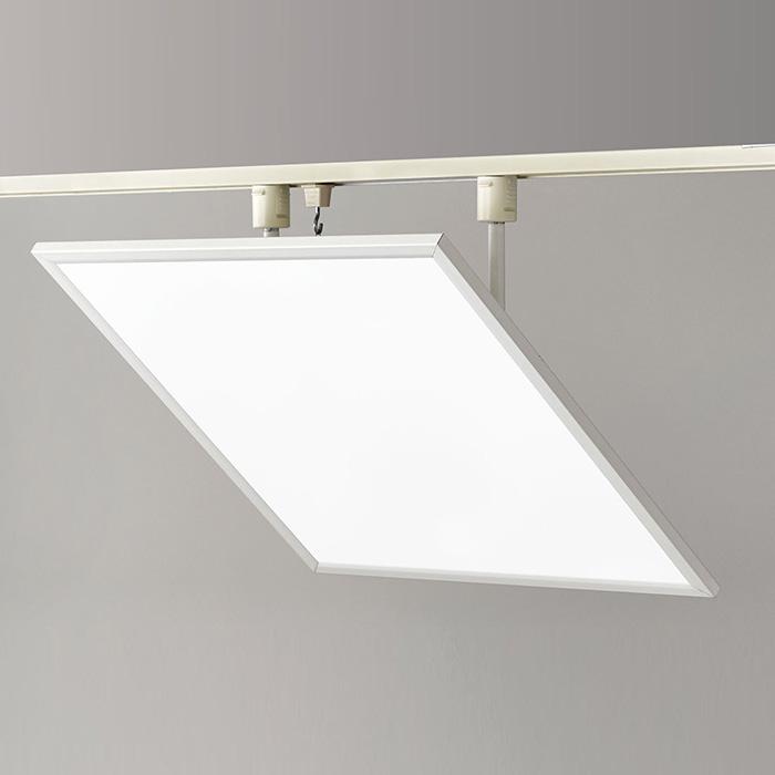 ◎yamada 配線ダクトレール用 LEDベース照明 スクエアタイプ LED一体型 FHP32W×4灯相当 白色タイプ 調光ボリューム付 SD-4452-W ※受注生産品