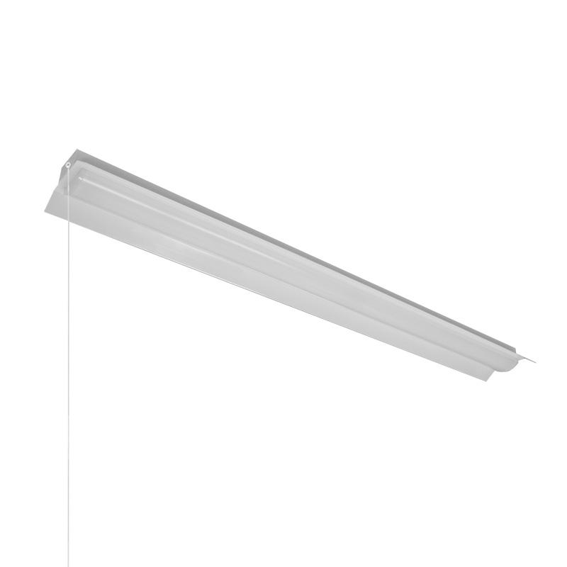 ◎NEC LED一体型ベース照明 Nuシリーズ 両反射笠形 40形 ホタルックタイプ 固定出力 100V~242V FHF32定格出力×2灯相当 昼白色 ライトユニット付 プルスイッチ付  MAB4101P/52N4SG-N8(AB40P1501+DLU45204NSGN8)