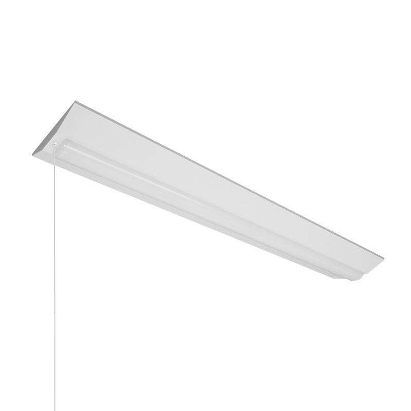 ◎NEC LED一体型ベース照明 Nuシリーズ 逆富士形 40形 ホタルックタイプ 連続調光 100V~242V FHF32高出力×2灯 昼白色 ライトユニット付 プルスイッチ付 MVB4103P/69N4SGN-X8(VB40P2303+DLU46904NSGNX8)