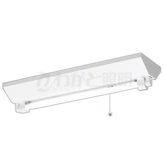 ◎パナソニック 天井直付型 直管LEDランプ搭載ベースライト 非常用照明器具 20形 富士型器具(逆富士) 30分間タイプ 非常時光束620lm LDL20×1灯用 昼白色 LEDランプ付 NNFG21002JLE9