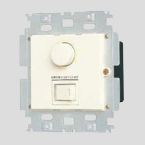 ◎パナソニック フルカラー配線器具 ムードスイッチC(3路・片切両用) プレートなしタイプ 白熱灯用 ほたるネームスイッチ付 ロータリー式  AC100V 1100W ミルキーホワイト WN575211K