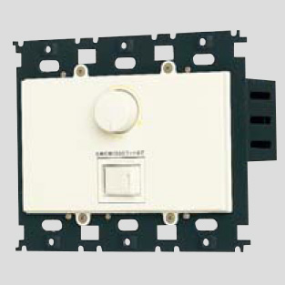 ◎パナソニック フルカラー配線器具 ムードスイッチC(3路・片切両用) プレートなしタイプ 白熱灯用 ほたるネームスイッチ付 ロータリー式  AC100V 1500W ミルキーホワイト WN575215K