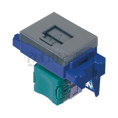 11000円以上で送料無料 パナソニック LAN用配線器具 ぐっとすシリーズ 情報モジュラジャック 市場 NR3160H 埋込型 CAT5e グレー 至上