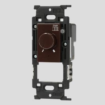 ◎神保電器 ニューマイルドビーシリーズ ライトコントロールスイッチ LED照明対応形 PWM信号制御方式 消灯機能あり 信号線出力200mAまで チョコ JEC-BN-RPWM1-C