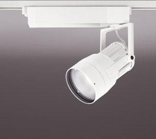 ◎ODELIC LEDスポットライト 高彩色タイプ 配線ダクトレール用 CDM-T150W相当 オフホワイト 14° 44VA 電球色 3000K 調光非対応 XS411105H