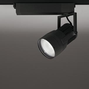◎ODELIC 生鮮用LEDスポットライト 配線ダクトレール用 CDM-T35W相当 ブラック スプレッド 38VA 3500K 調光非対応 XS411210