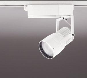 送料無料 ODELIC 激安特価品 LEDスポットライト 高彩色タイプ 配線ダクトレール用 CDM-T35W相当 オフホワイト 29VA 激安通販販売 調光非対応 XS412153H 46° 3000K 電球色