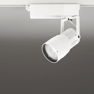 ◎ODELIC 生鮮用LEDスポットライト 配線ダクトレール用 JR12V50W相当 オフホワイト 14° 37VA 3500K 調光非対応 XS412161