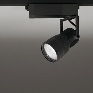 ◎ODELIC 生鮮用LEDスポットライト 配線ダクトレール用 JR12V50W相当 ブラック 46° 37VA 3500K 調光非対応 XS412168