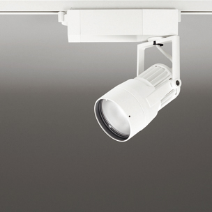 ◎ODELIC 生鮮用LEDスポットライト 配線ダクトレール用 JDR75W相当 オフホワイト 46° 29VA 3500K 調光非対応 XS412177