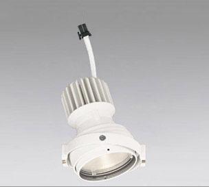 ◎ODELIC LEDマルチユニバーサル灯体 高彩色タイプ CDM-T35W相当 オフホワイト 14°電球色 3000K 専用調光器対応(ハウジング・電源別売) XS412305H