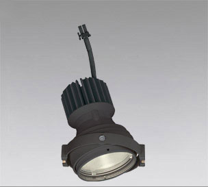 ◎ODELIC LEDマルチユニバーサル灯体 高彩色タイプ CDM-T35W相当 ブラック 31°電球色 3000K 専用調光器対応(ハウジング・電源別売) XS412318H