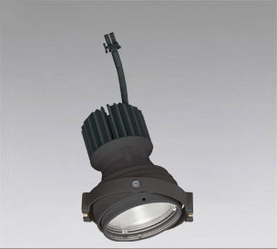 ◎ODELIC LEDマルチユニバーサル灯体 高彩色タイプ CDM-T35W相当 ブラック スプレッド 温白色 3500K 専用調光器対応(ハウジング・電源別売) XS412328H