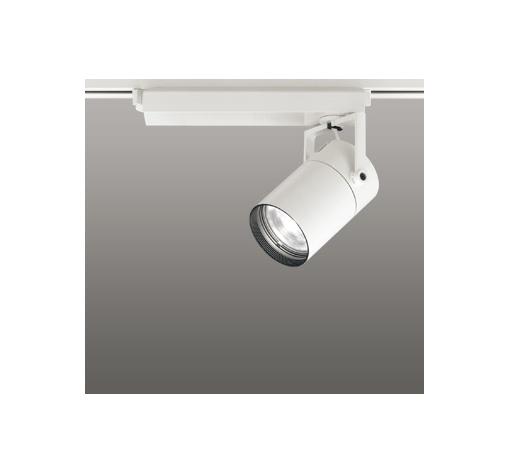 ◎ODELIC LEDスポットライト 配線ダクトレール用 CDM-T70W相当 オフホワイト 23° 温白色 3500K  調光非対応 XS511109
