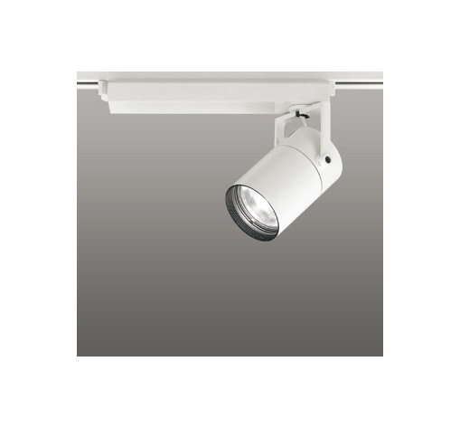 ◎ODELIC LEDスポットライト 配線ダクトレール用 CDM-T70W相当 オフホワイト 33° 白色 4000K  専用調光リモコン対応(リモコン別売) XS511113BC