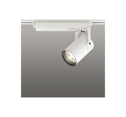 ◎ODELIC LEDスポットライト 高彩色タイプ 配線ダクトレール用 CDM-T70W相当 オフホワイト 33° 電球色 3000K  調光非対応 XS511117H