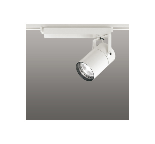 ◎ODELIC LEDスポットライト 配線ダクトレール用 CDM-T70W相当 オフホワイト 61° 温白色 3500K  調光非対応 XS511121
