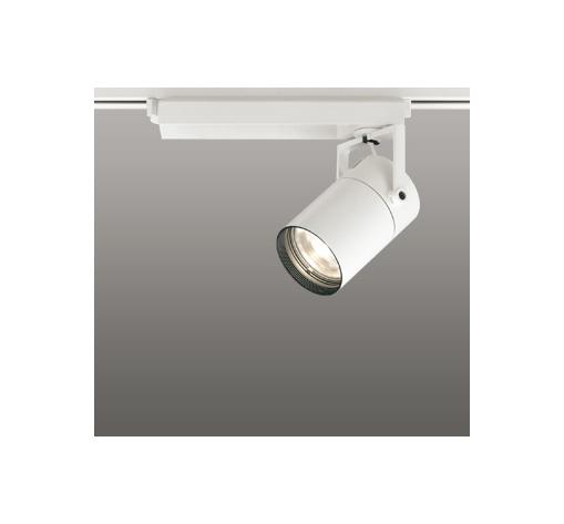 オフホワイト XS412127H 37VA LEDスポットライト スプレッド 温白色 3500K 配線ダクトレール用 高彩色タイプ 調光非対応 CDM−T35W相当 ◎ODELIC