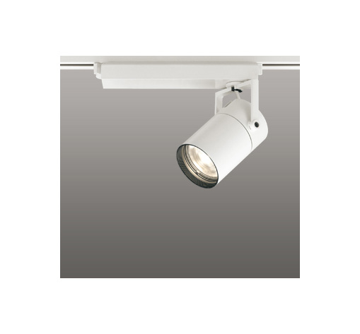 ◎ODELIC LEDスポットライト 配線ダクトレール用 CDM-T70W相当 オフホワイト 61° 電球色 3000K  調光非対応 XS511123