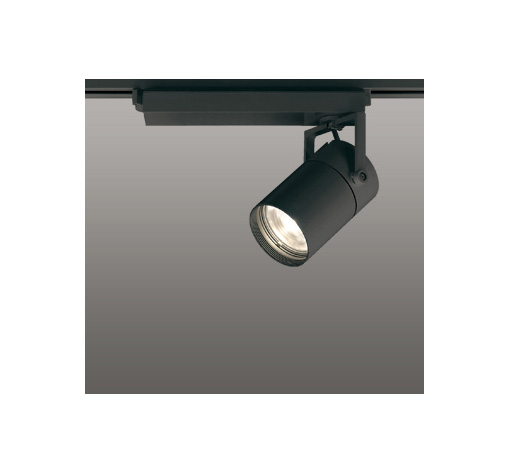 ◎ODELIC LEDスポットライト 配線ダクトレール用 CDM-T70W相当 ブラック スプレッド 電球色 3000K  調光非対応 XS511130