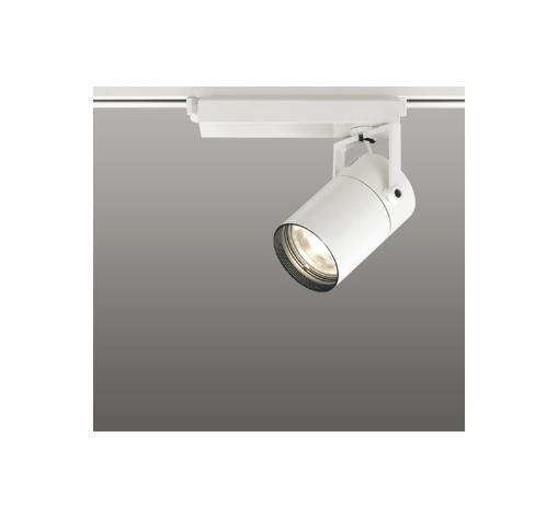 ◎ODELIC LEDスポットライト 高彩色タイプ 配線ダクトレール用 CDM-T35W相当 オフホワイト 33° 電球色 3000K  調光非対応 XS512121H
