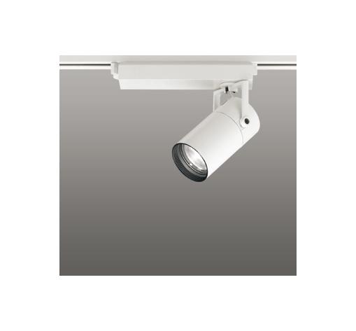 ◎ODELIC LEDスポットライト 配線ダクトレール用 CDM-T35W相当 オフホワイト 33° 温白色 3500K  専用調光器対応 XS513119C