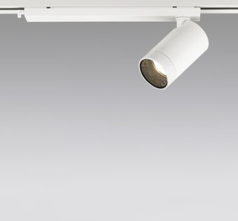 ◎ODELIC LEDスポットライト 配線ダクトレール用 JR12V50W相当 オフホワイト 24° 電球色 3000K  調光非対応 XS613107H
