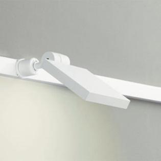 ◎ODELIC 配線ダクトレール用 LEDスポットライト LED一体型 白熱灯60W相当 電球色 壁面取付可能型 100V OS256034