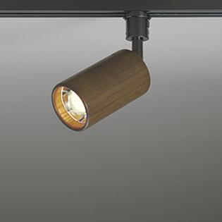 ◎ODELIC 配線ダクトレール用 LEDスポットライト LED電球ミニクリプトン形 E17口金 60W相当 電球色 (ランプ付き) 壁面取付可能型 拡散配光98° 専用調光器対応 100V OS256060LC