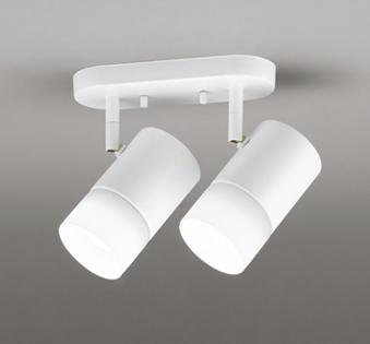 ◎ODELIC LEDスポットライト 直付け用(フレンジタイプ) LED電球一般電球形 白熱灯60W相当×2灯(ランプ付) Bluetooth フルカラー調光・調色 電球色~昼光色 拡散配光 100V OS256133BR