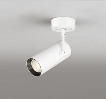 ◎ODELIC LEDスポットライト 直付け用(フレンジタイプ) LED一体型 CDM-T35W相当 非調光 電球色 ワイド配光 100V OS256287