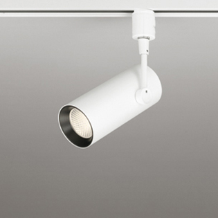 ◎ODELIC 配線ダクトレール用 LEDスポットライト LED一体型 CDM-T35W相当 電球色 壁面取付可能型 ワイド配光38° 100V OS256288