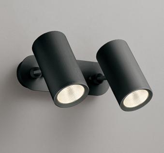 ◎ODELIC LEDスポットライト 直付け用(フレンジタイプ) LED一体型 白熱灯100W×2灯相当 専用調光器対応 電球色 ワイド配光 100V OS256444